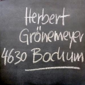 Herbert Gronemeyer - 4630 Bochum