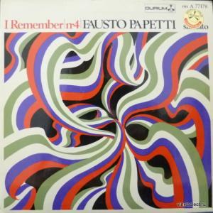 Fausto Papetti - I Remember N°4