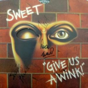 Sweet - Give Us A Wink (*Autographed)