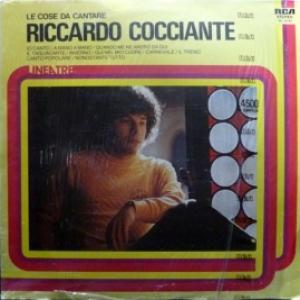 Riccardo Cocciante - Le Cose Da Cantare