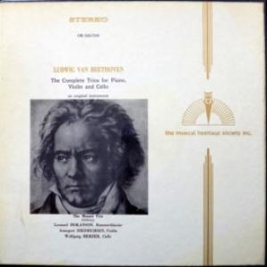 Ludwig van Beethoven - The Complete Trios For Piano, Violin & Cello