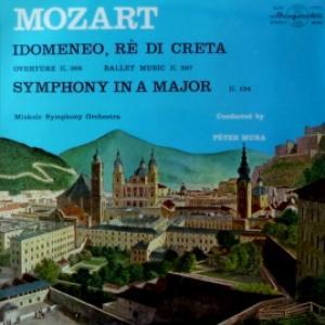 Wolfgang Amadeus Mozart - Idomeneo Overture, Ballet Music - Symphony №21