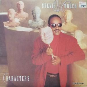 Stevie Wonder - Characters (feat. Michael Jackson)