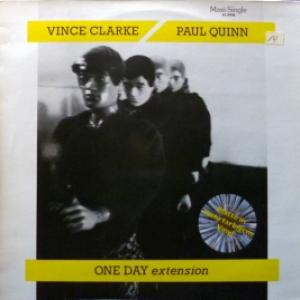 Vince Clarke (ex-Depeche Mode, Yazoo) & Paul Quinn - One Day (Extension) (Multicoloured Vinyl)