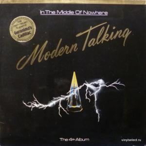 Modern Talking - In The Middle Of Nowhere - The 4th Album (+ Postcard!)