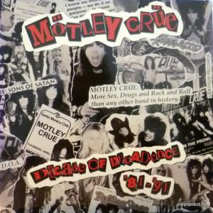 Motley Crue - Decade Of Decadence '81-'91 (+Poster!)