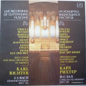 Johann Sebastian Bach - Johannes-Passion BWV 245 (feat. Karl Richter & Bach Choir & Orchestra Of Munich)