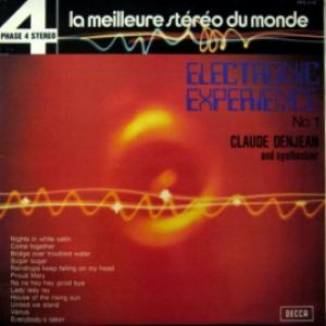 Claude Denjean & Le Moog Synthesizer - Electronic Experience