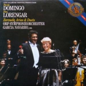 Placido Domingo & Pilar Lorengar - Zarzuela Arias & Duets (feat. Garcia Navarro & Orf-Symphonieorchester)