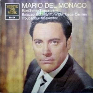 Mario del Monaco - Beruhmte Tenorarien