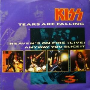 Kiss - Tears Are Falling (+ Postcard!)