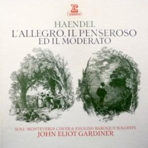 George Frideric Handel - L'Allegro, Il Penseroso Ed Il Moderato (John Eliot Gardiner & Soli-Monteverdi Choir & English Baroque Soloists) (2LP Box)