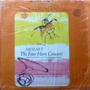 Wolfgang Amadeus Mozart - Mozart's Four Horn Concertos (feat. Albert Linder & Vienna State Opera Orchestra)