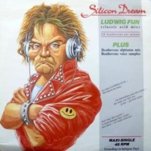 Silicon Dream - Ludwig Fun (Classic Acid Mix) (Orange Transparent  Vinyl)