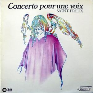 Saint-Preux - Concerto Pour Une Voix