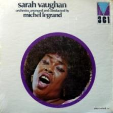 Sarah Vaughan - Orchestra Arranged And Conducted By Michel Legrand