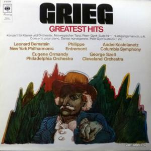 Edvard Grieg - Greatest Hits (feat. A. Kostelanetz, E.Ormandy, G.Szell, L.Bernstein)