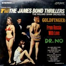 Roland Shaw Orchestra, The - Themes From The James Bond Thrillers