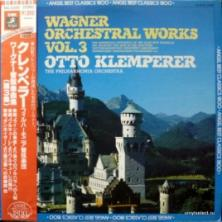 Richard Wagner - Orchestral Works Vol.3 (feat. Otto Klemperer & The Philharmonia Orchestra)