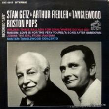 Stan Getz - Stan Getz & Arthur Fiedler At Tanglewood