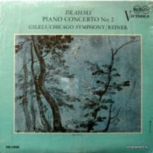 Johannes Brahms - Emil Gilels Plays Brahms Concerto No.2