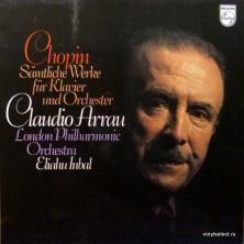 Frederic Chopin - Claudio Arrau Plays Samtliche Werke Fur Klavier Und Orchester