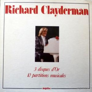 Richard Clayderman - 3 Disques d'Or - 10 Partitions Musicales