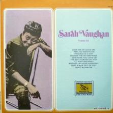 Sarah Vaughan - Volume III