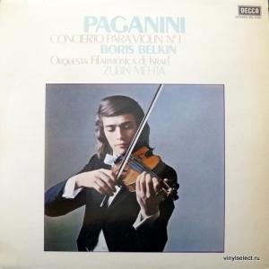 Niccolo Paganini - Concerto Para Violin №1 (feat. Boris Belkin & Zubin Mehta)