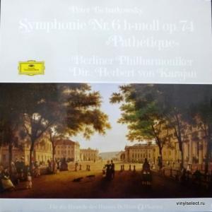 Piotr Illitch Tchaikovsky (Петр Ильич Чайковский) - Symphonie Nr. 6 H-Moll Op. 74 Pathétique (feat. Herbert Von Karajan)