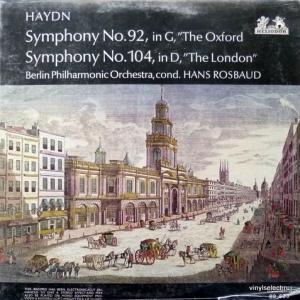 Joseph Haydn - Symphonien Nr. 92, 104