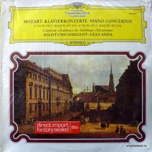 Wolfgang Amadeus Mozart - Konzert Fur Klavier Und Orchester Nr. 25 C-dur KV 503, Nr.8 C-dur KV 246