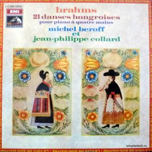 Johannes Brahms - 21 Danses Hongroises (feat. Michel Beroff & Jean-Philippe Collard)