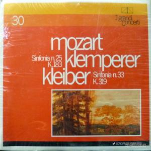 Wolfgang Amadeus Mozart - Sinfonia N.25 K.183, N.33 K.319 (feat. Otto Klemperer, Erich Kleiber)