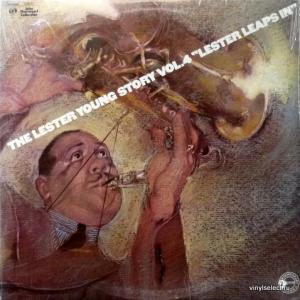 Lester Young - The Lester Young Story Vol.4 - Lester Leaps In
