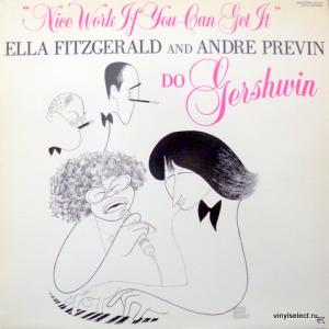 Ella Fitzgerald & Andre Previn - Nice Work If You Can Get It - Ella Fitzgerald And Andre Previn Do Gershwin
