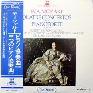 Wolfgang Amadeus Mozart - Quatre Concertos Pour Pianoforte, KV 246-107
