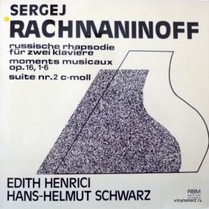 Сергей Рахманинов (Sergei Rachmaninoff) - Russische Rhapsodie Fur Zwei Klaviere, Moments Musicaux op.16, Suite Nr.2