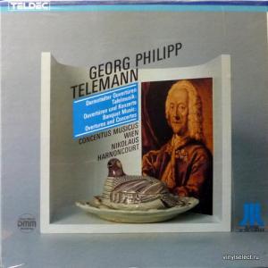 Georg Philipp Telemann - Darmstädter Ouvertüren, Ouvertüren Und Konzerte Der Tafelmusik