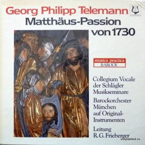 Georg Philipp Telemann - Matthäus-Passion von 1730