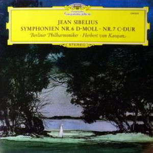 Herbert Von Karajan - Jean Sibelius - Symphonies No. 6 In D Minor, No. 7 In C