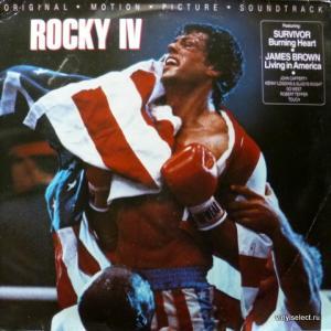 Rocky IV - Original Motion Picture Soundtrack - Compilation feat. Survivor, James Brown, Touch, Go West...