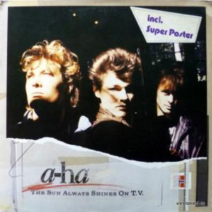 A-Ha - The Sun Always Shines On T.V. (+ Poster)