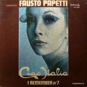 Fausto Papetti - I Remember N°7 - Ciao Italia