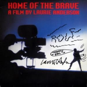 Laurie Anderson - Home Of The Brave (*Autographed)
