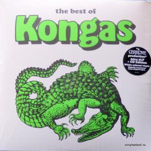 Kongas - Kongas (feat. Cerrone) (White Vinyl)