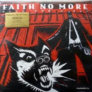 Faith No More - King For A Day Fool For A Lifetime (Red Marbled Vinyl)