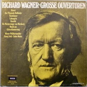 Richard Wagner - Grosse Ouverturen (feat. Zubin Mehta, Georg Solti & Wiener Philharmoniker)