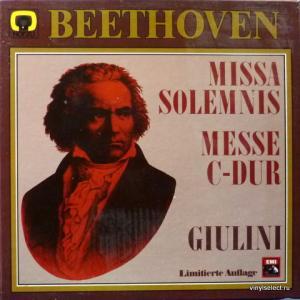 Ludwig van Beethoven - Missa Solemnis - Messe C-Dur op.86, D-Dur op.123
