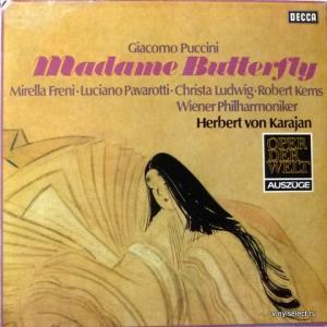 Giacomo Puccini - Madame Butterfly - Auszüge (feat. L.Pavarotti, M.Freni, H. von Karajan)